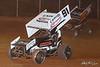 Greg Hodnett Foundation Race - BAPS Motor Speedway - 91 Kyle Reinhardt, 39M Anthony Macri