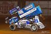 Greg Hodnett Foundation Race - BAPS Motor Speedway - 07 Gerard McIntyre Jr., 48 Danny Dietrich