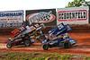 Greg Hodnett Foundation Race - BAPS Motor Speedway - 39M Anthony Macri, 26 Cory Eliason