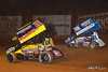 Greg Hodnett Foundation Race - BAPS Motor Speedway - 11 Jim Shuster, 48 Danny Dietrich