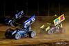 Greg Hodnett Foundation Race - BAPS Motor Speedway - 21 Brian Montieth, 26 Cory Eliason, 37 JJ Grasso