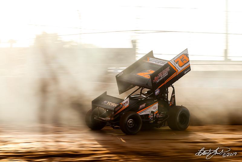 Greg Hodnett Foundation Race - BAPS Motor Speedway - 73B Brett Michalski