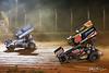 Greg Hodnett Foundation Race - BAPS Motor Speedway - 48 Danny Dietrich, 49H Bradley Howard