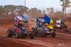 Greg Hodnett Foundation Race - BAPS Motor Speedway - 20W Davey Walsh, 75 Kenny Edkin