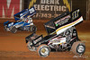 Greg Hodnett Foundation Race - BAPS Motor Speedway - 26 Cory Eliason, 11P Greg Plank