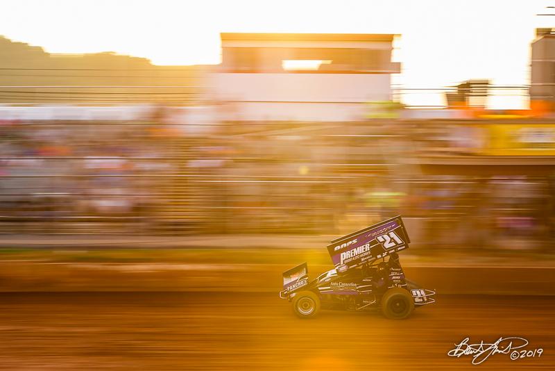 Greg Hodnett Foundation Race - BAPS Motor Speedway - 21 Brian Montieth