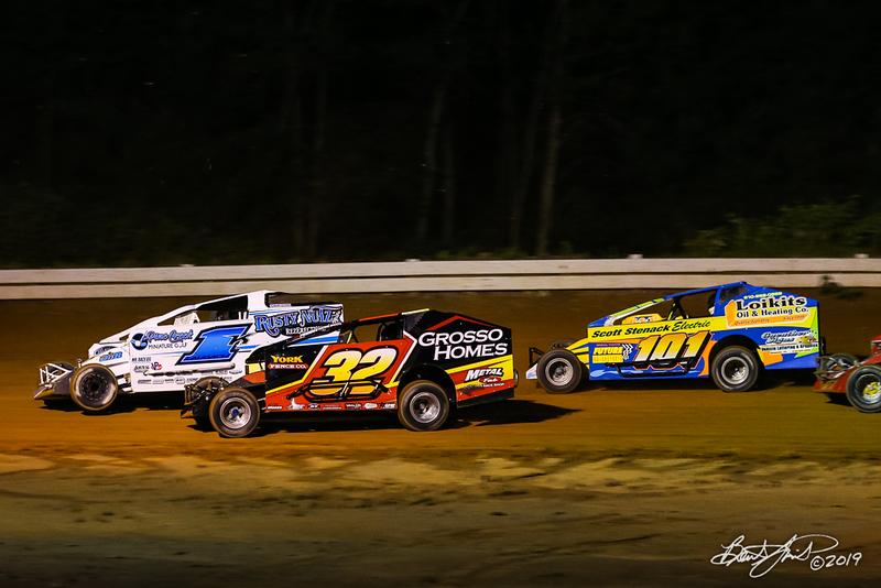 Big Diamond Speedway - 1K Rick Laubach, 32 Brandon Grosso, 101 Kris Graver