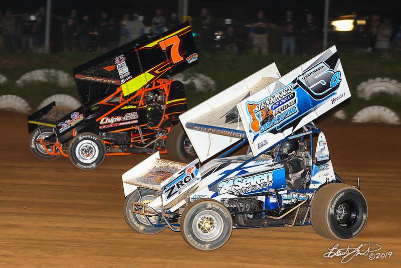 Capitol Renegade United Racing Club - Big Diamond Speedway - 7 Ed Aiken, 5Q Ryan Quackenbush