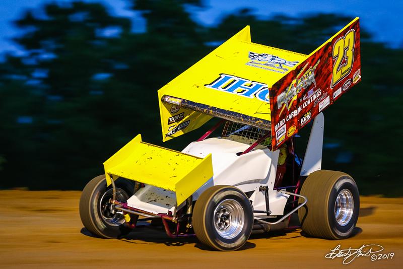 Capitol Renegade United Racing Club - Big Diamond Speedway - 23 Lance Moss