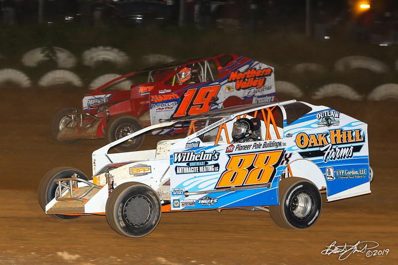 Big Diamond Speedway - 19K Brett Kressley, 88x Craig Von Dohren