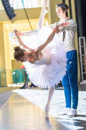 RNO and Bolshoi Artists Rehearsal