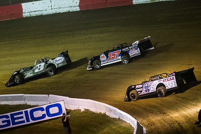 Timothy Culp (C8), Mike Marlar (157) and Scott Bloomquist (0)