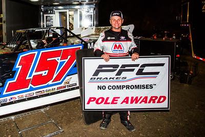 PFC Brakes Pole Award winner Mike Marlar