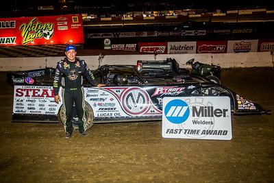 Miller Welders Fast Time Award winner Chris Madden