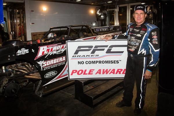 PFC Brakes Pole Award winner Scott Bloomquist