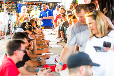 Lucas Oil Late Model Dirt Series autograph session
