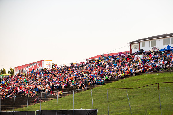 Batesville Motor Speedway grandstands