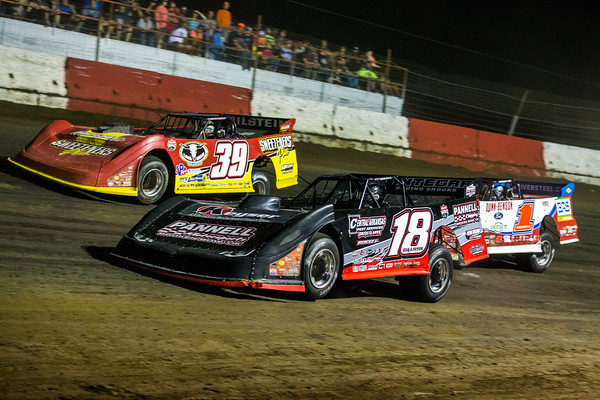 Jack Sullivan (18), Tim McCreadie (39) and Devin Moran (1)