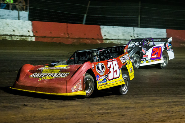 Tim McCreadie (39) and Billy Moyer (21)