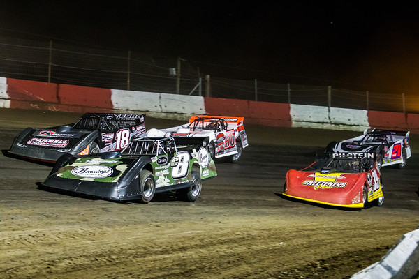 Timothy Culp (C8), Jack Sullivan (18), Tim McCreadie (39), Tony Jackson, Jr. (56) and Billy Moyer (21)