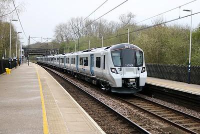 717008 1705/2F08 Moorgate-Stevenage