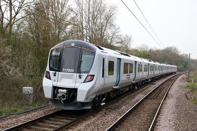 717003 1746/2B17 Moorgate-Hertford