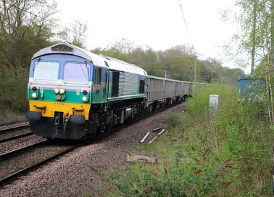 59005 1255/6z21 Hitchin up Yard-Acton TC