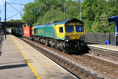 66414 0836/4E63 Felixstowe-Doncaster Enterprise passes Bayford