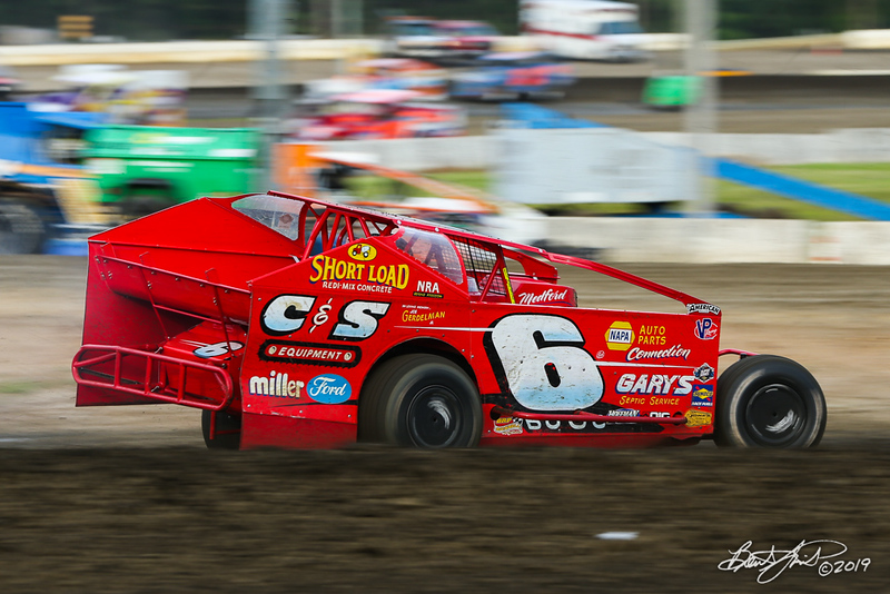 All American 40 - Design For Vision/Sunglass Central Speedway - 6 Danny Bouc