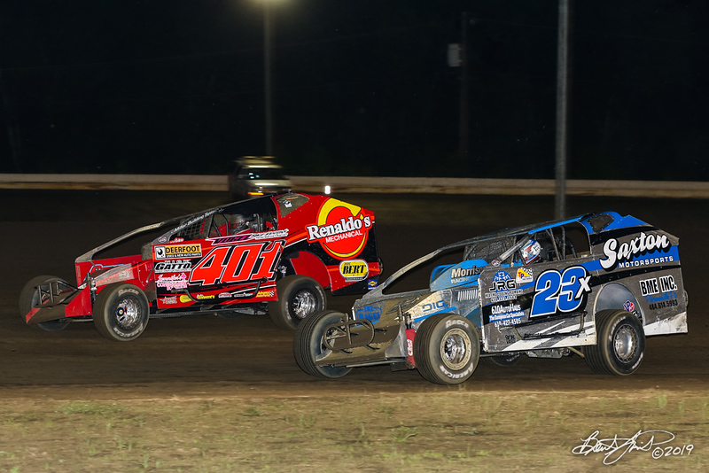 All American 40 - Design For Vision/Sunglass Central Speedway - 401 Frank Cozze, 23x Tim Buckwalter