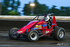 USAC East Coast Sprint Cars - Design For Vision/Sunglass Central Speedway - 117 David Swanson