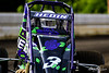 USAC East Coast Sprint Cars - Design For Vision/Sunglass Central Speedway - 3H Heidi Hedin