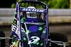 USAC East Coast Sprint Cars - Design For Vision/Sunglass Central Speedway - 3H Heidi Hedin