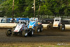 USAC East Coast Sprint Cars  - Design For Vision/Sunglass Central Speedway - 71 Chris Allen, 33b Bill Unglert