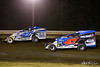 All American 40 - Design For Vision/Sunglass Central Speedway - 23x Tim Buckwalter, 43 Jimmy Horton