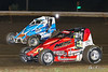 USAC East Coast Sprint Cars - Design For Vision/Sunglass Central Speedway - 32 Eric Jennings, 33b Bill Unglert