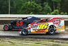 All American 40 - Design For Vision/Sunglass Central Speedway - 16s Eric Kormann, 53 Roger Gaskill