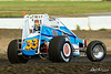 USAC East Coast Sprint Cars - Design For Vision/Sunglass Central Speedway - 33b Bill Unglert