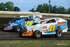 All American 40 - Design For Vision/Sunglass Central Speedway - 28F Stan Frankenfield, 31 Tommy Beamer