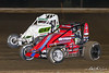 USAC East Coast Sprint Cars - Design For Vision/Sunglass Central Speedway - 5G Tim Buckwalter, 15 Mark Bitner