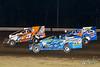 All American 40 - Design For Vision/Sunglass Central Speedway - 5B Brett Ballard, 51 Richie Pratt Jr., 118 Jim Britt