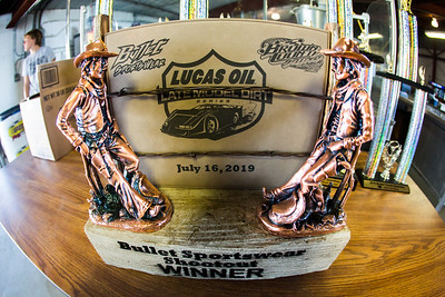 Bullet Sportswear Shootout winners trophy