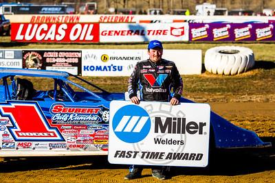 Miller Welders Fast Time Award winner Brandon Sheppard