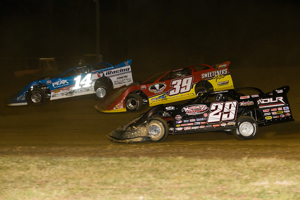 Josh Richards (14), Tim McCreadie (39) and Darrell Lanigan (29)