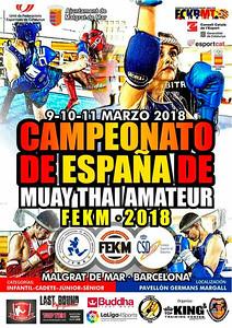 03-09 10 11 MARZO 2018 campeonato muay thai