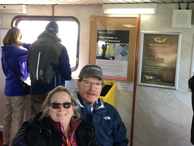 Rick and Dana on ferry - Margaret Miller