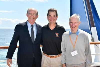 David Eisenhower with John Strong and Bill Miller - Margaret Miller