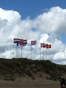 Normandy Flags - Margaret Miller
