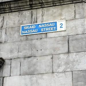 Nassau Street in Dublin - Margaret Miller