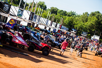 Cherokee Speedway pit area